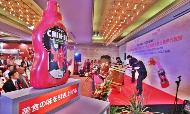 Nhãn hiệu tương ớt của Việt Nam chính thức gia nhập thị trường Nhật Bản theo đúng nghi thức của người Nhật - Ảnh 1.