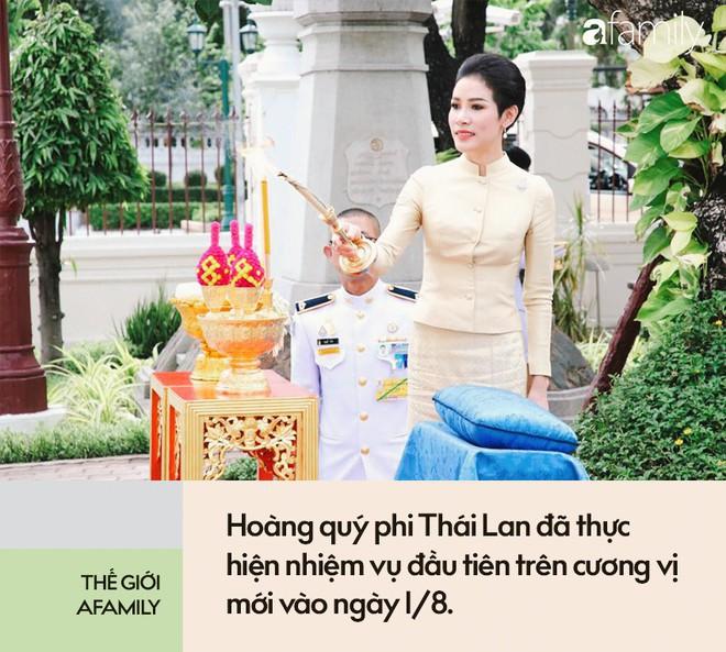 Hoàng quý phi Thái Lan thực hiện nhiệm vụ hoàng gia đầu tiên trên cương vị mới với phong thái gây ngỡ ngàng - Ảnh 3.