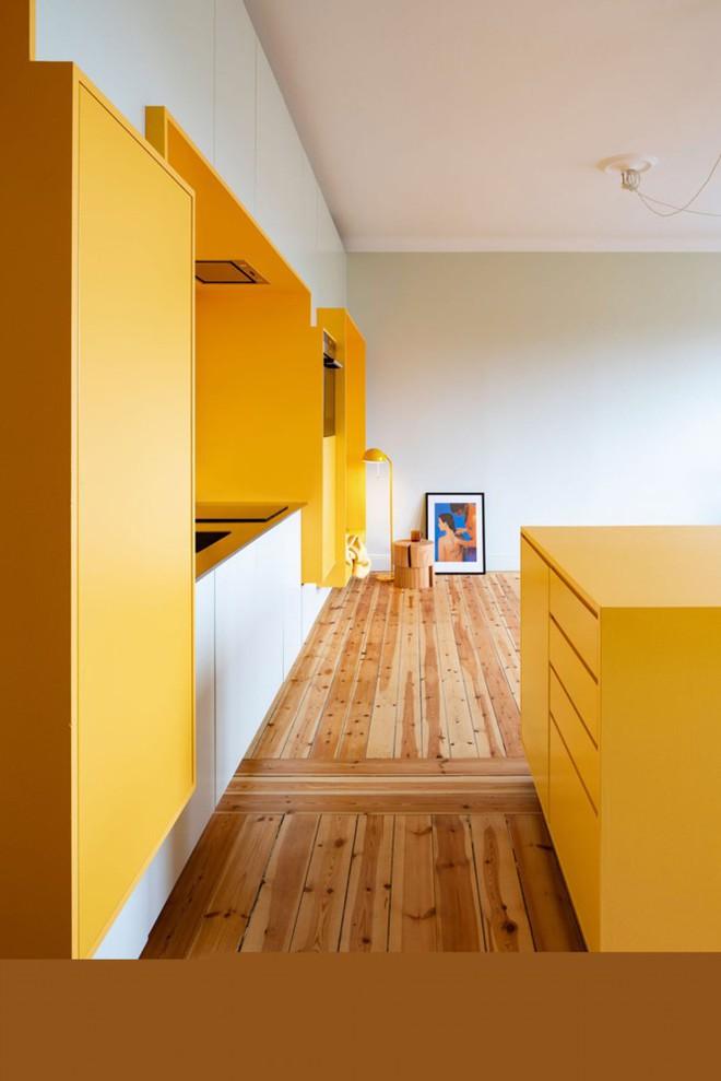 Bên trong căn hộ màu vàng xinh xắn - Ảnh 4.