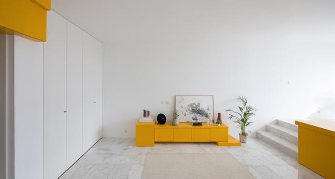 Bên trong căn hộ màu vàng xinh xắn - Ảnh 9.