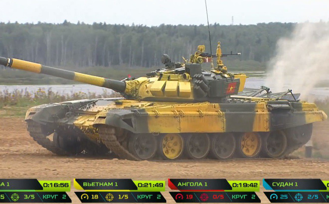 Tuyệt vời kíp xe tăng Việt Nam 2 đứng đầu bảng, chính thức phá kỷ lục - Xe tăng Cuba và Angola bị hỏng