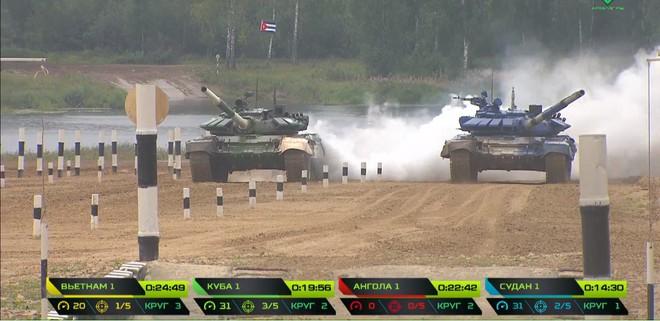 Kíp 1 xe tăng Việt Nam thi đấu tốt tại Tank Biathlon 2019, vượt xa thành tích năm ngoái - Ảnh 8.