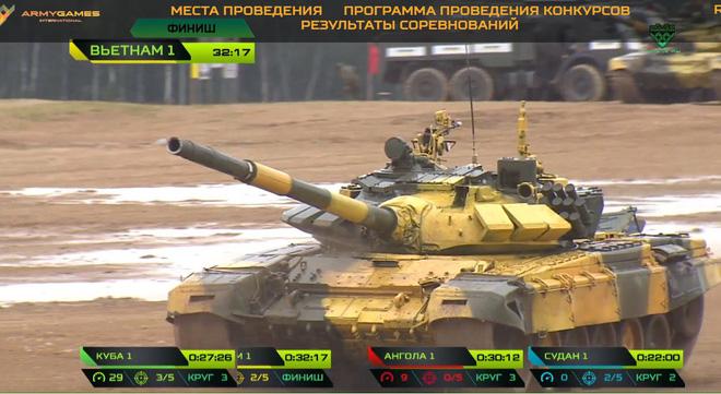 Kíp 1 xe tăng Việt Nam thi đấu tốt tại Tank Biathlon 2019, vượt xa thành tích năm ngoái - Ảnh 9.