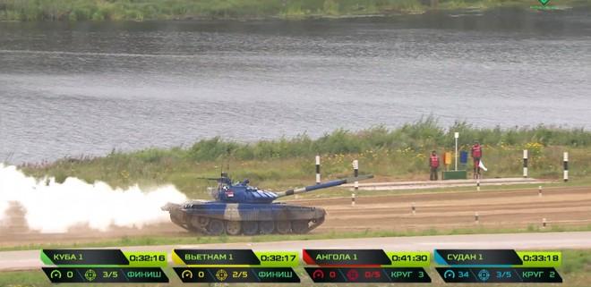 Kíp 1 xe tăng Việt Nam thi đấu tốt tại Tank Biathlon 2019, vượt xa thành tích năm ngoái - Ảnh 6.