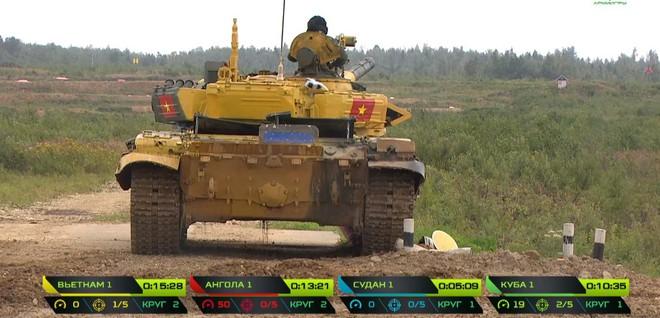 Kíp 1 xe tăng Việt Nam thi đấu tốt tại Tank Biathlon 2019, vượt xa thành tích năm ngoái - Ảnh 12.