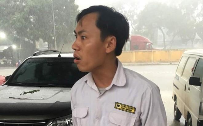 Xác định danh tính tài xế taxi đánh 3 cô gái tại bến xe Yên Nghĩa