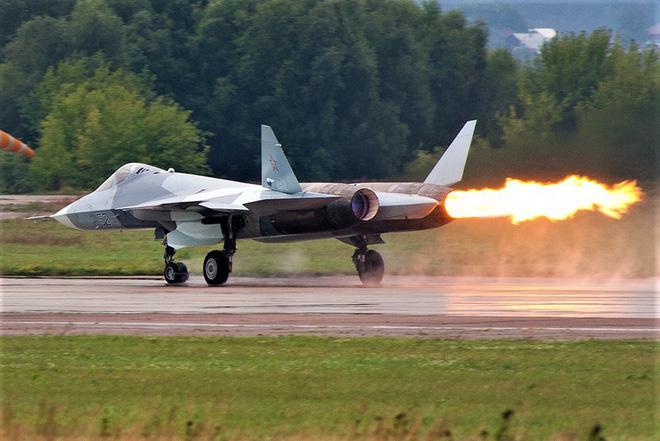 """Tiêm kích tàng hình """"diệt mọi mục tiêu"""" Su-57 - Ảnh 1."""