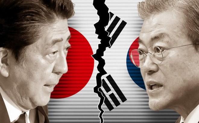 """Nhật Bản và Hàn Quốc """"ăn miếng trả miếng"""" vì căng thẳng thương mại"""