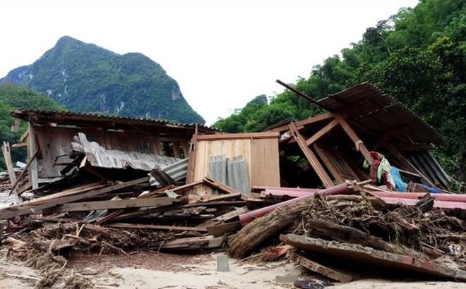 Nhiều thiệt hại sau bão số 3