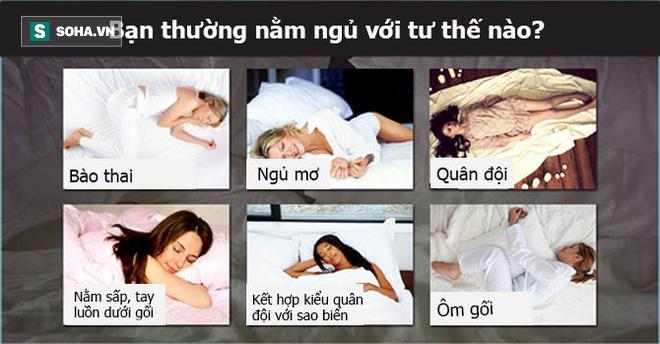 Bạn thường nằm ngủ với tư thế nào? Tư thế ngủ bộc lộ bí mật của bạn - ảnh 1