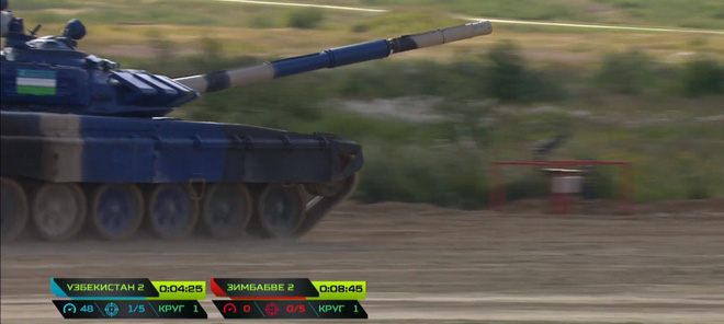Tuyệt vời kíp xe tăng Việt Nam 2 đứng đầu bảng, chính thức phá kỷ lục - Xe tăng Cuba và Angola bị hỏng - Ảnh 33.