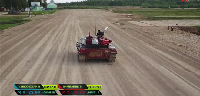 Tuyệt vời kíp xe tăng Việt Nam 2 đứng đầu bảng, chính thức phá kỷ lục - Xe tăng Cuba và Angola bị hỏng - Ảnh 26.