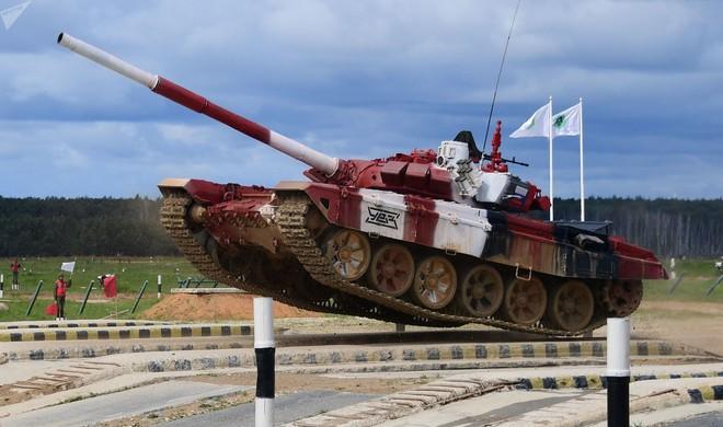 Đại tá xe tăng VN giải thích điều lệ thi đấu Tank Biathlon 2019 - Càng xem càng thú vị - Ảnh 6.