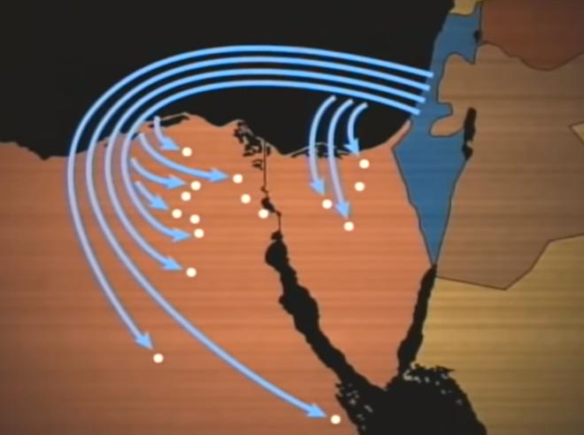 Chiến dịch Moked: 180 chiến đấu cơ Israel đồng loạt cất cánh tấn công Ai Cập - Ảnh 7.