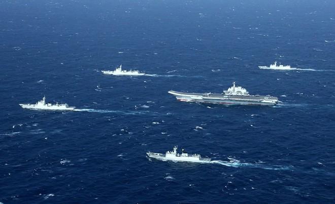 Trung Quốc ngang nhiên tuyên bố tập trận ở biển Đông - Ảnh 1.