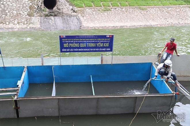 Chuyên gia Nhật sẽ tắm trên sông Tô Lịch - Ảnh 10.