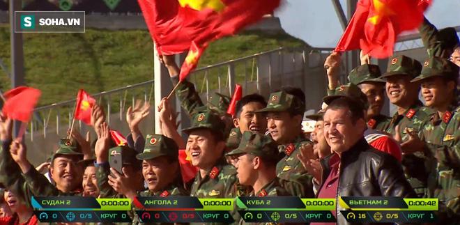 Tuyệt vời kíp xe tăng Việt Nam 2 đứng đầu bảng, chính thức phá kỷ lục - Xe tăng Cuba và Angola bị hỏng - Ảnh 9.