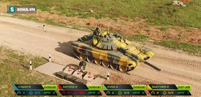 Tuyệt vời kíp xe tăng Việt Nam 2 đứng đầu bảng, chính thức phá kỷ lục - Xe tăng Cuba và Angola bị hỏng - Ảnh 21.