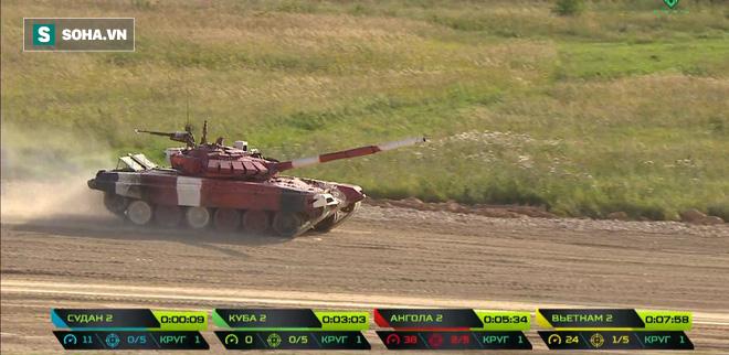 Tuyệt vời kíp xe tăng Việt Nam 2 đứng đầu bảng, chính thức phá kỷ lục - Xe tăng Cuba và Angola bị hỏng - Ảnh 19.