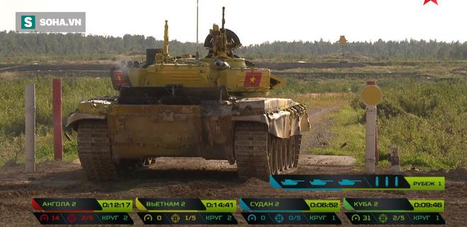 Tuyệt vời kíp xe tăng Việt Nam 2 đứng đầu bảng, chính thức phá kỷ lục - Xe tăng Cuba và Angola bị hỏng - Ảnh 17.