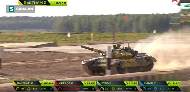 Tuyệt vời kíp xe tăng Việt Nam 2 đứng đầu bảng, chính thức phá kỷ lục - Xe tăng Cuba và Angola bị hỏng - Ảnh 15.