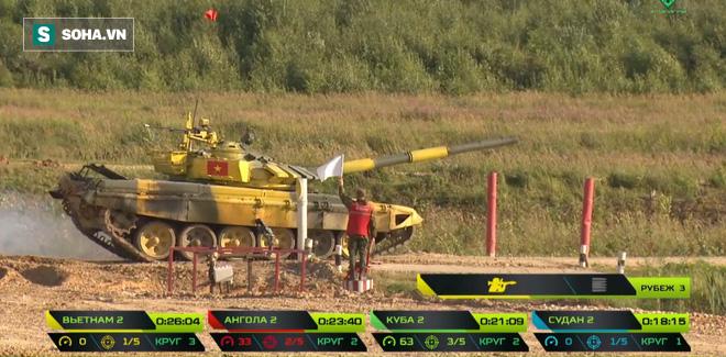 Tuyệt vời kíp xe tăng Việt Nam 2 đứng đầu bảng, chính thức phá kỷ lục - Xe tăng Cuba và Angola bị hỏng - Ảnh 14.