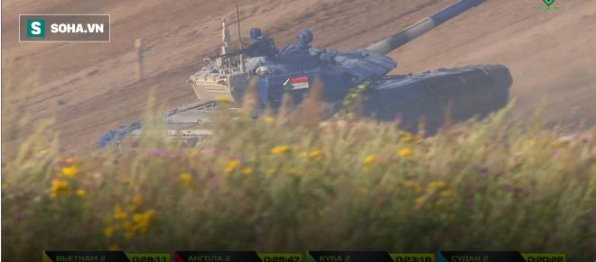 Tuyệt vời kíp xe tăng Việt Nam 2 đứng đầu bảng, chính thức phá kỷ lục - Xe tăng Cuba và Angola bị hỏng - Ảnh 12.