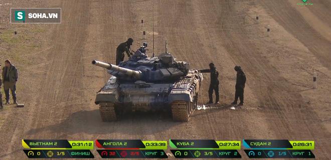Tuyệt vời kíp xe tăng Việt Nam 2 đứng đầu bảng, chính thức phá kỷ lục - Xe tăng Cuba và Angola bị hỏng - Ảnh 6.