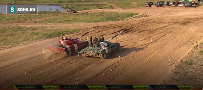 Tuyệt vời kíp xe tăng Việt Nam 2 đứng đầu bảng, chính thức phá kỷ lục - Xe tăng Cuba và Angola bị hỏng - Ảnh 5.
