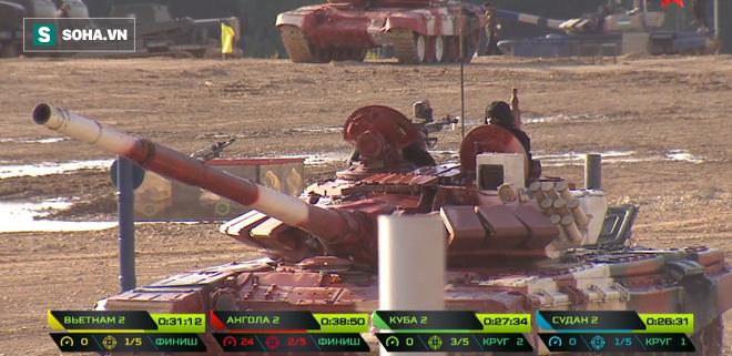 Tuyệt vời kíp xe tăng Việt Nam 2 đứng đầu bảng, chính thức phá kỷ lục - Xe tăng Cuba và Angola bị hỏng - Ảnh 3.
