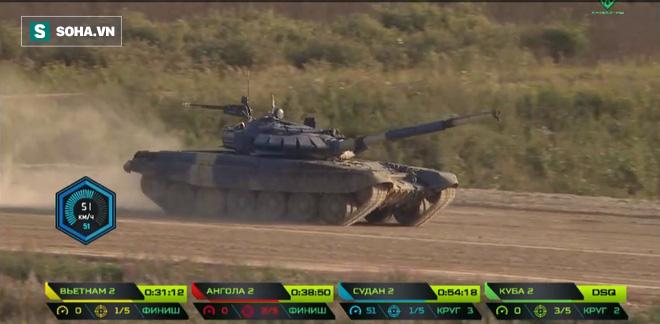 Tuyệt vời kíp xe tăng Việt Nam 2 đứng đầu bảng, chính thức phá kỷ lục - Xe tăng Cuba và Angola bị hỏng - Ảnh 2.