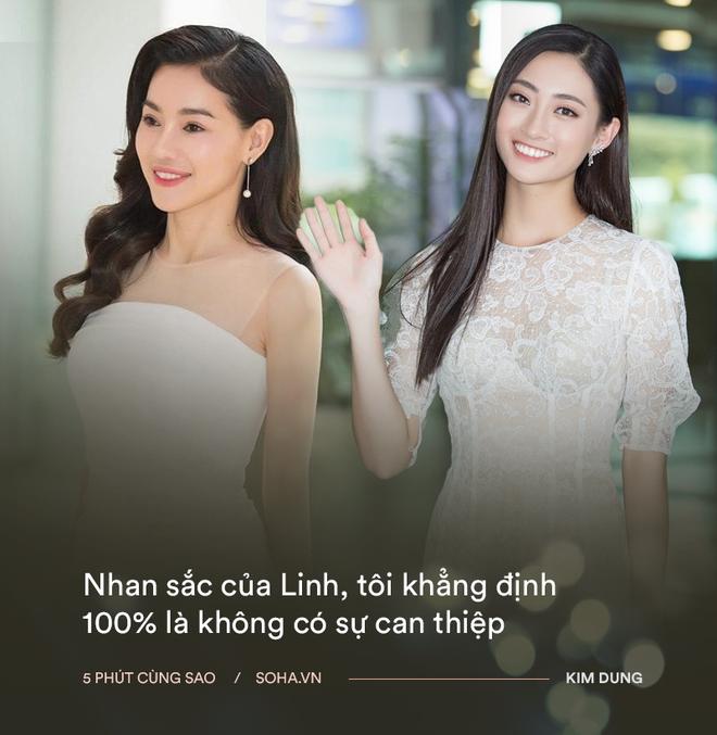Bà trùm hoa hậu Phạm Kim Dung nói gì về con người Lương Thùy Linh và chiếc váy sexy của Mai Phương Thuý? - Ảnh 3.