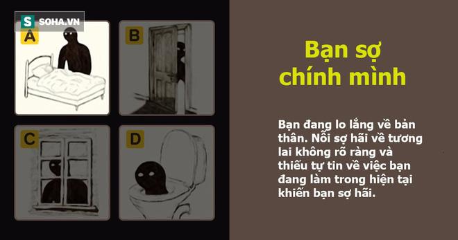 Hình ảnh bóng đen bạn chọn bộc lộ nỗi lo sợ lớn nhất trong bạn: Đáp án C thú vị nhất - Ảnh 2.