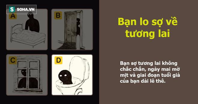 Hình ảnh bóng đen bạn chọn bộc lộ nỗi lo sợ lớn nhất trong bạn: Đáp án C thú vị nhất - Ảnh 7.