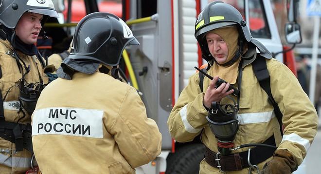 Nổ rất lớn tại căn cứ quân sự Nga, trực thăng cứu hộ khẩn cấp - Đã có thương vong - Ảnh 1.