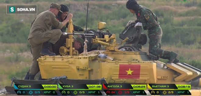 Trận đấu sinh tử của Đội xe tăng Việt Nam tại Tank Biathlon 2019 bắt đầu - Ảnh 26.
