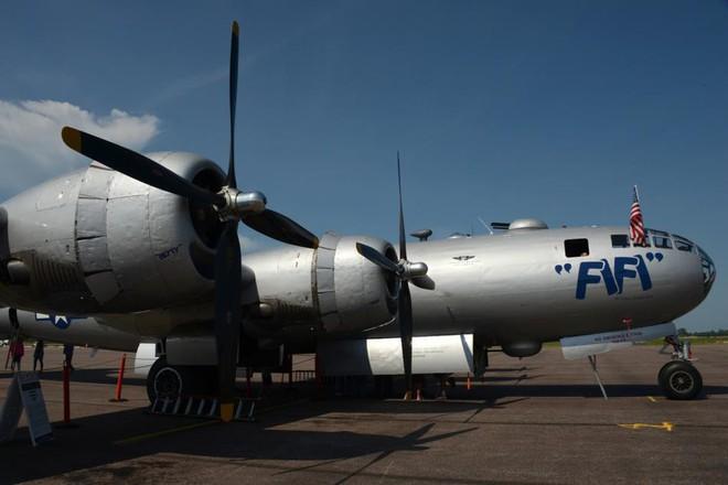 Siêu pháo đài bay B-29 Mỹ bất ngờ tái xuất sau hàng chục năm ngủ yên - ảnh 4