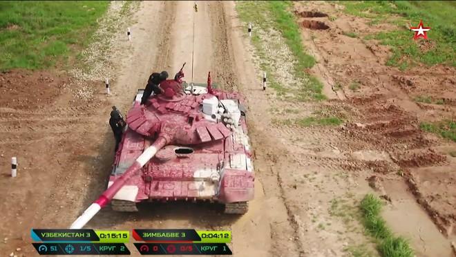 Trận đấu sinh tử của Đội xe tăng Việt Nam tại Tank Biathlon 2019 bắt đầu - Ảnh 40.