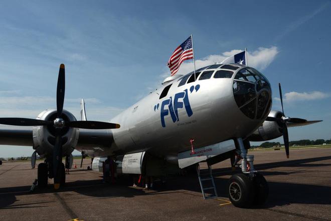 Siêu pháo đài bay B-29 Mỹ bất ngờ tái xuất sau hàng chục năm ngủ yên - ảnh 3