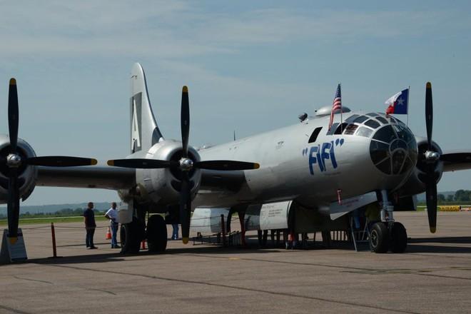 Siêu pháo đài bay B-29 Mỹ bất ngờ tái xuất sau hàng chục năm ngủ yên - ảnh 2