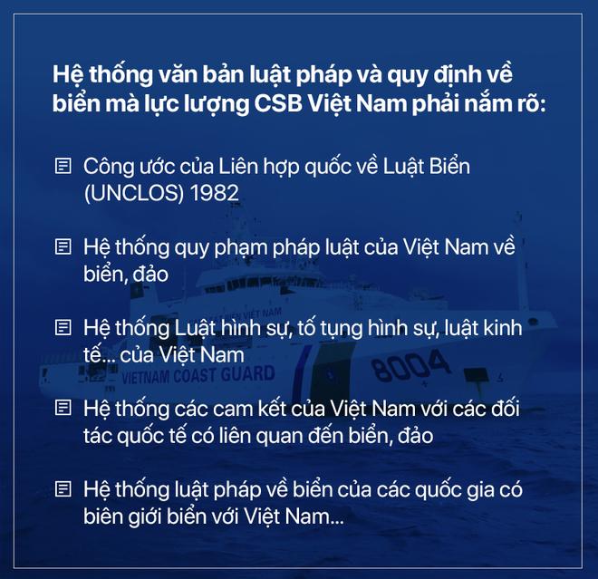 Phó Tư lệnh Cảnh sát biển Việt Nam: Chúng tôi đang thực hiện lời thề giữ biển - Ảnh 9.