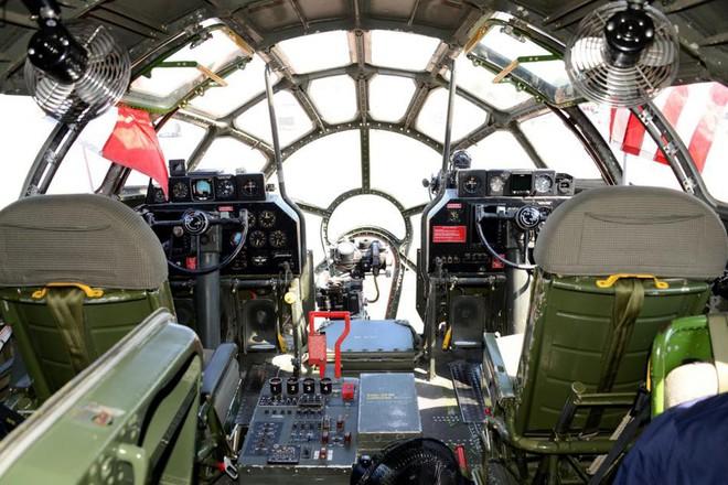 Siêu pháo đài bay B-29 Mỹ bất ngờ tái xuất sau hàng chục năm ngủ yên - ảnh 9