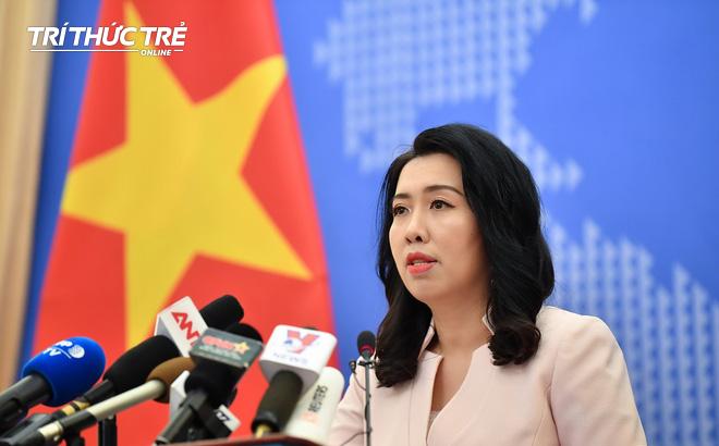 Nhóm tàu Hải Dương 8 đã rời khỏi Vùng đặc quyền kinh tế và thềm lục địa Việt Nam