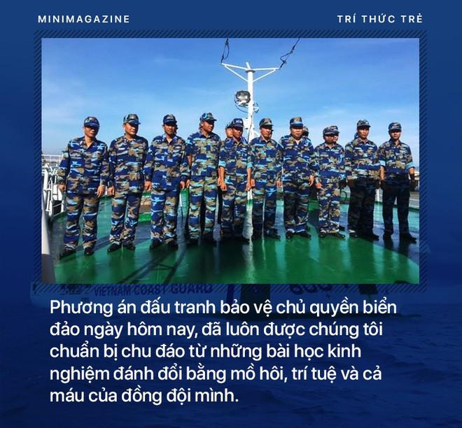 Phó Tư lệnh Cảnh sát biển Việt Nam: Chúng tôi đang thực hiện lời thề giữ biển - Ảnh 12.