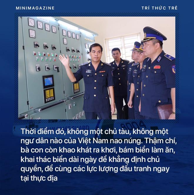 Phó Tư lệnh Cảnh sát biển Việt Nam: Chúng tôi đang thực hiện lời thề giữ biển - Ảnh 4.