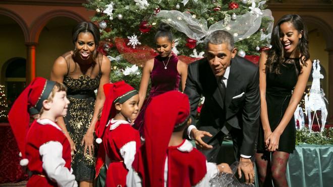 Gia đình cựu Tổng thống Obama.