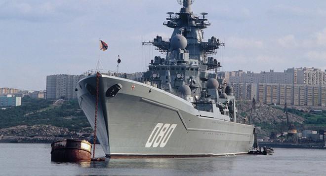 Khủng long của hải quân Nga trở lại với dàn vũ khí kinh người - ảnh 1