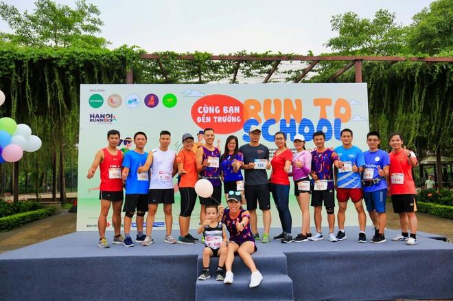 """6 CLB chạy tại Hà Nội """"cùng bạn đến trường"""" và giấc mơ về """"Ngày chạy bộ Việt Nam"""" - Ảnh 2."""