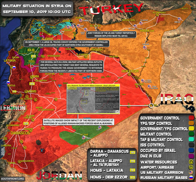 Mỹ, Israel liều lĩnh vượt lằn ranh đỏ tấn công Đông Syria - 2 máy bay UAV quân sự Israel bị bắn rơi liên tiếp - Ảnh 3.