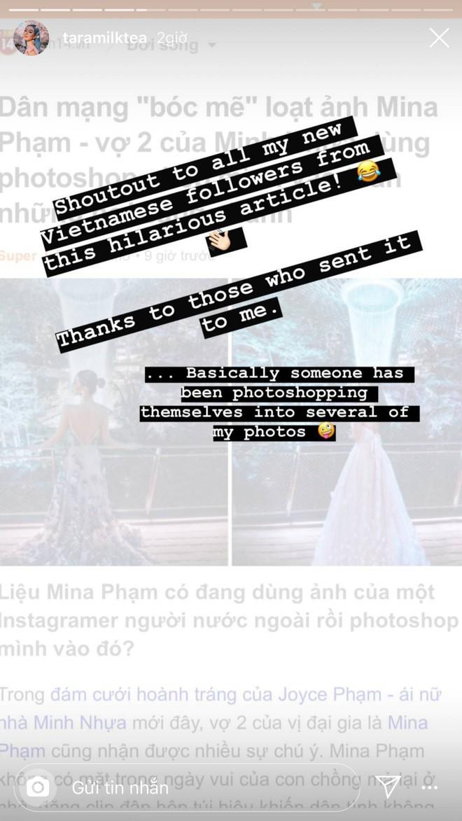 Nữ Blogger nổi tiếng của Úc đăng story dằn mặt vợ 2 Minh Nhựa vụ nghi dùng photoshop ghép ảnh sống ảo - Ảnh 4.